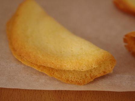 ホットケーキミックスで作るフォーチュンクッキーおみくじクッキー04