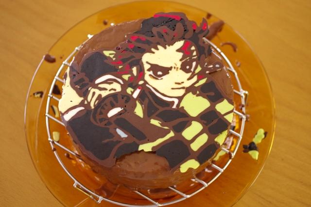 簡単おいしい誕生日のチョコチップ入りココアケーキ10