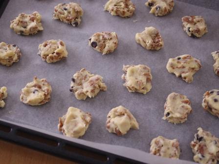 ココアシリアルとHMで簡単クッキー03