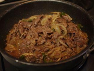 牛肉と舞茸の炒め物04