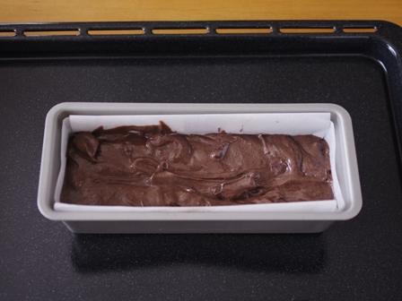 チョコレートケーキと食べられるドライフラワー03