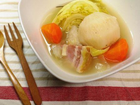野菜で風邪をふきとばそうポトフ