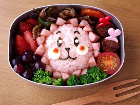 ライオンさんのお弁当