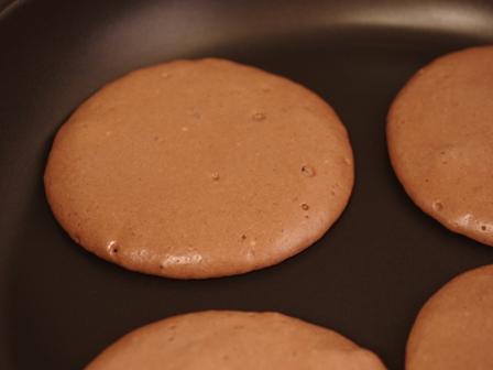 焼きマシュマロのチョコレートホットケーキ02
