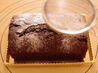 クリスマスの簡単チョコレートケーキ06