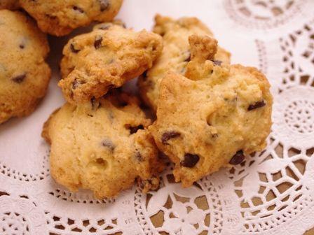 チョコとクルミの簡単さくさくクッキー07
