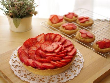 比較的簡単イチゴのタルト05