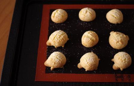 ホットケーキミックスとパパンでつくるカメロンパンのミニクッキー01