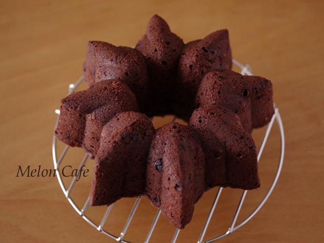 チョコとクルミの男前ケーキ04