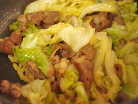 豚肉とキャベツのさわやか焼き03