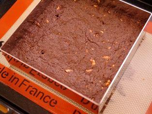 クルミのチョコレートブラウニー08
