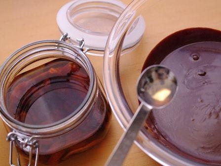 ガナッシュチョコレートでつくるオトナのとろけるドームケーキ04