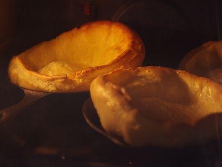 スキレットで簡単ドイツ風パンケーキ生ハムときのこのダッチベイビー04