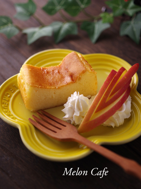 簡単ヨーグルト入りチーズケーキ