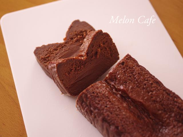 簡単本格クリスマスの半生ガトーショコラ2種チョコa