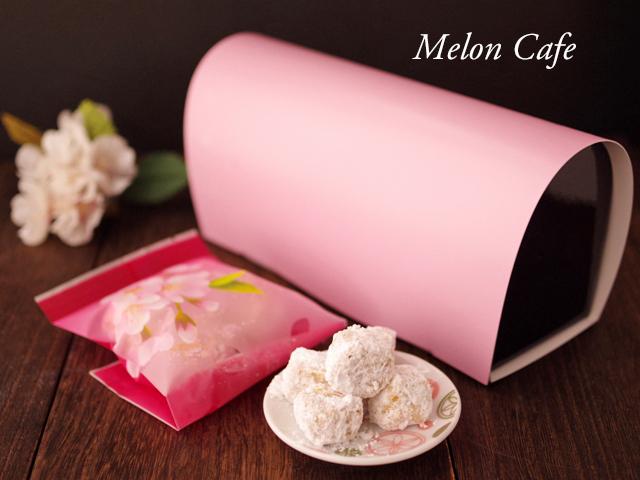 桜の花のほろほろクッキーポルボロン01