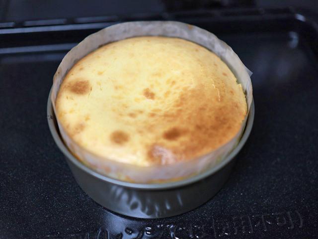 チョコチップココア台のチーズケーキ15