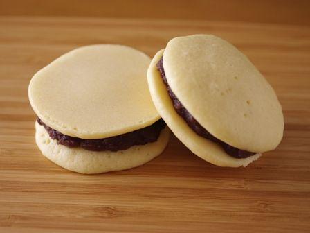 ホットケーキミックスとレンジで作るもっちり白どら焼き05