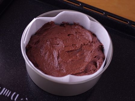 ホットケーキミックスで作る超簡単クリスマスケーキチョコレートケーキ01