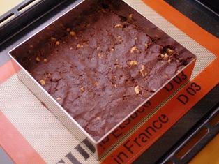 クルミのチョコレートブラウニー07