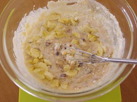 ホットケーキミックスで作るホールケーキ01