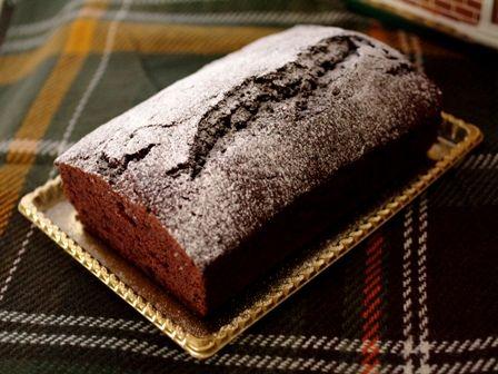 クリスマスの簡単チョコレートケーキ