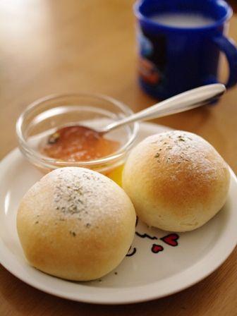 塩麹とジンジャーの簡単手作りパン