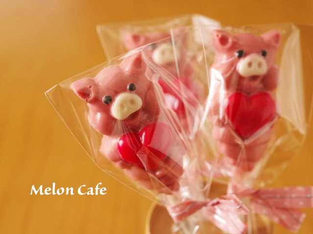 ぶたさんチョコレートモールド00
