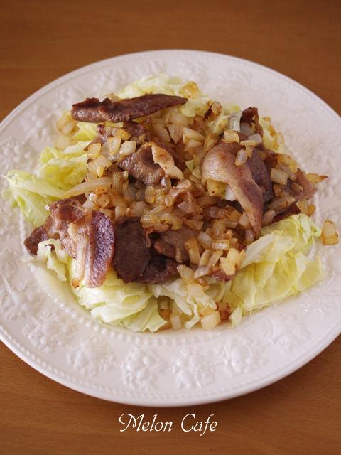 キャベツと豚肉のあったかサラダ