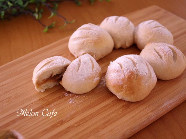 マロンペーストで作る栗ちぎりパン