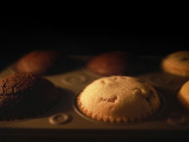 オレンジチョコとチョコチップココアのマフィン06