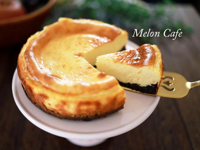 チョコチップココア台のチーズケーキ00