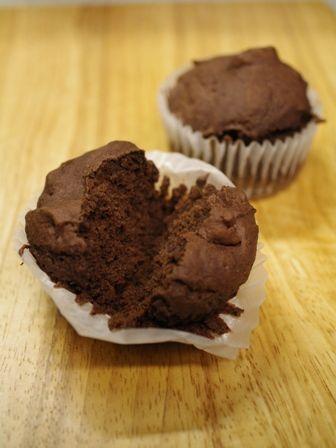 アレルギー対応のチョコレートケーキ小麦粉・卵不使用