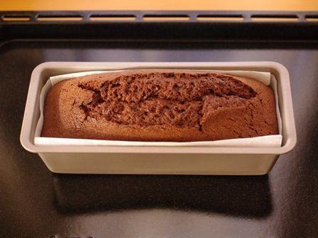 新幹線ケーキ用チョコレートパウンド05