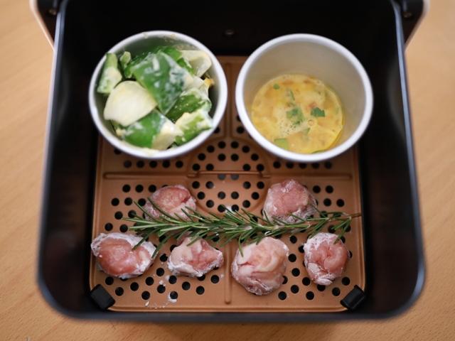 レコルトエアーオーブンで簡単お弁当おかず12
