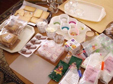 クリスマスのヘクセンハウスお菓子の家2014meloncafe01