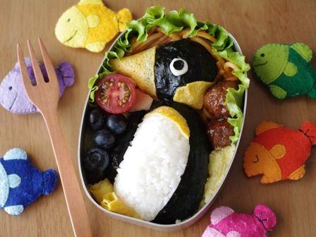 ペンギンさんのお弁当