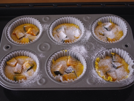 メリリマオリーブオイルでかぼちゃのHMカップケーキ03