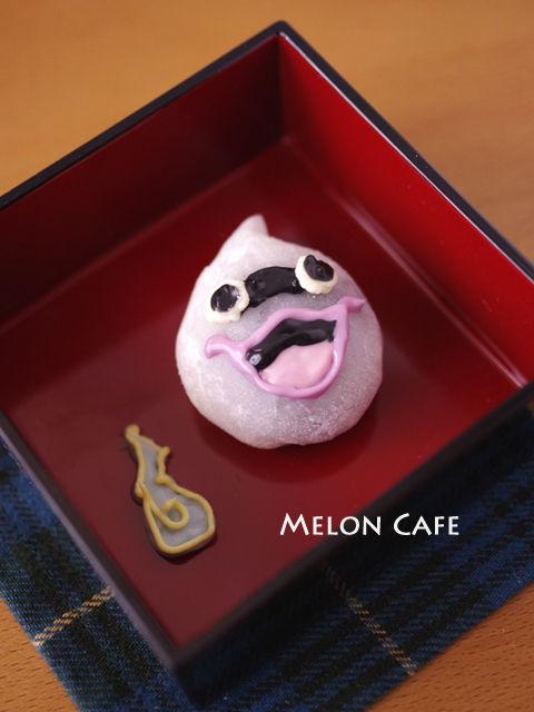 妖怪ウォッチの和菓子レンジでつくる簡単おやつキャラデコ餅01