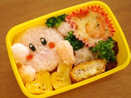 簡単おにぎりの弁当3種02