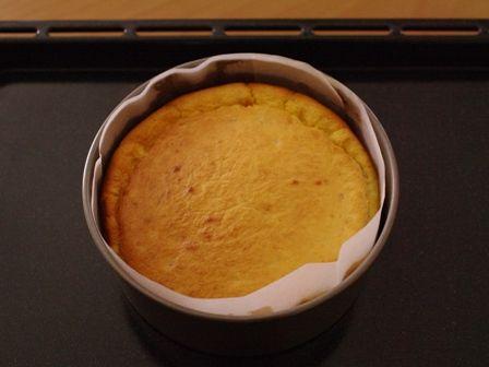ホットケーキミックスで簡単バナナチーズケーキ08
