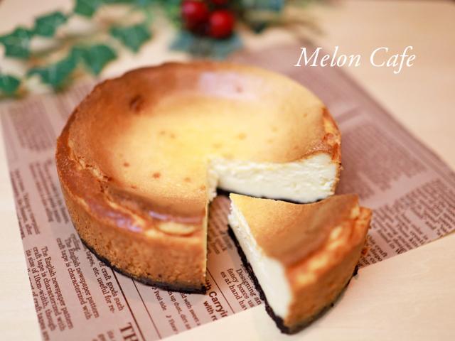 HMで簡単濃厚チーズケーキ
