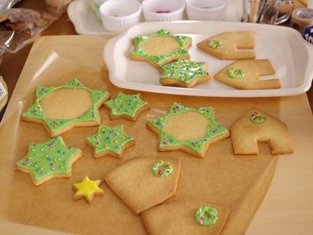 クリスマスのヘクセンハウスお菓子の家2014meloncafe04