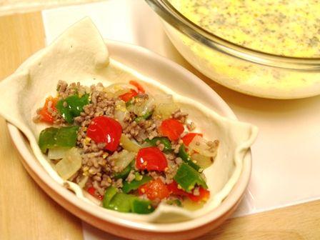 カラフル野菜のミルクキッシュ03