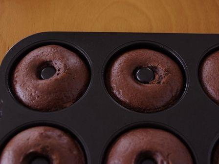 ホットケーキミックスで作るバターなしのもちもち焼きドーナツ03