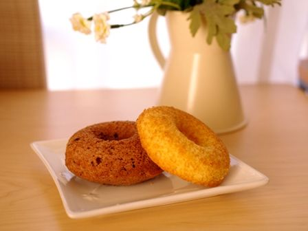 3種の焼きドーナツ00