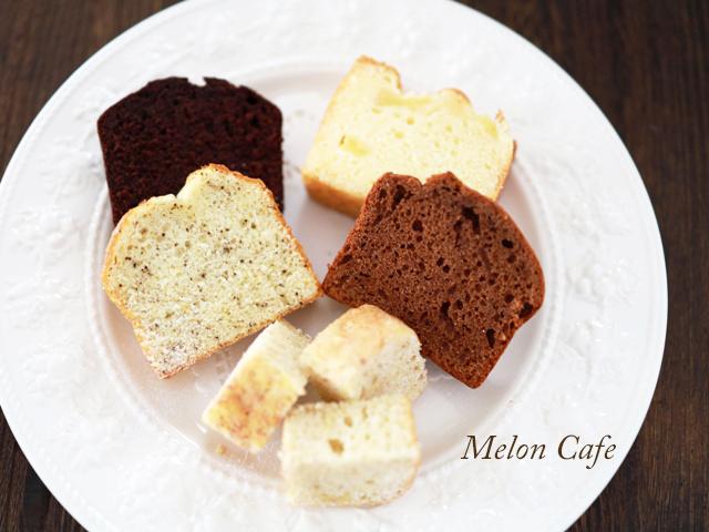 ホットケーキミックスのパウンドケーキ5種