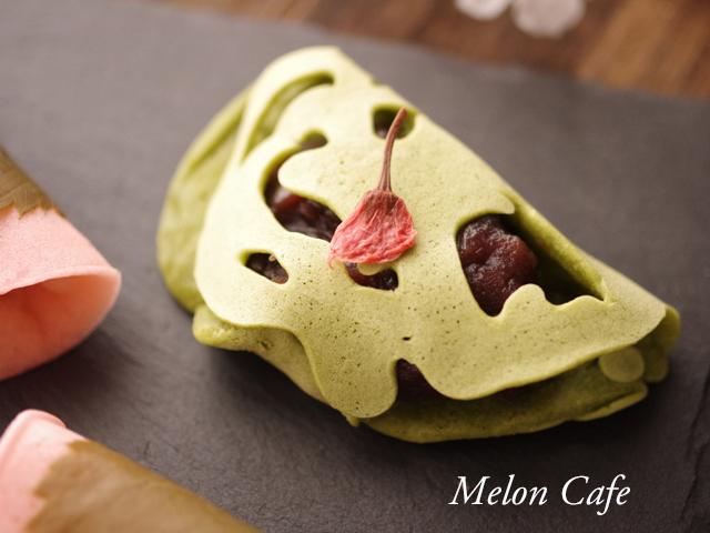 関西風桜餅 ホットケーキミックスで春の和菓子2