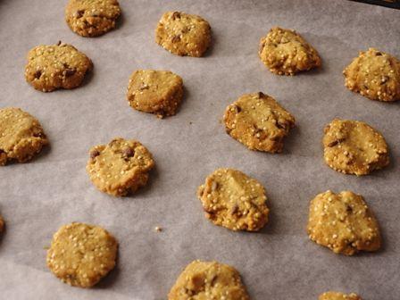 キヌア入りチョコチップクッキー03