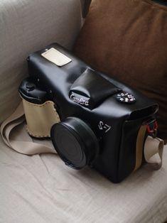 手作りカメラバッグ1